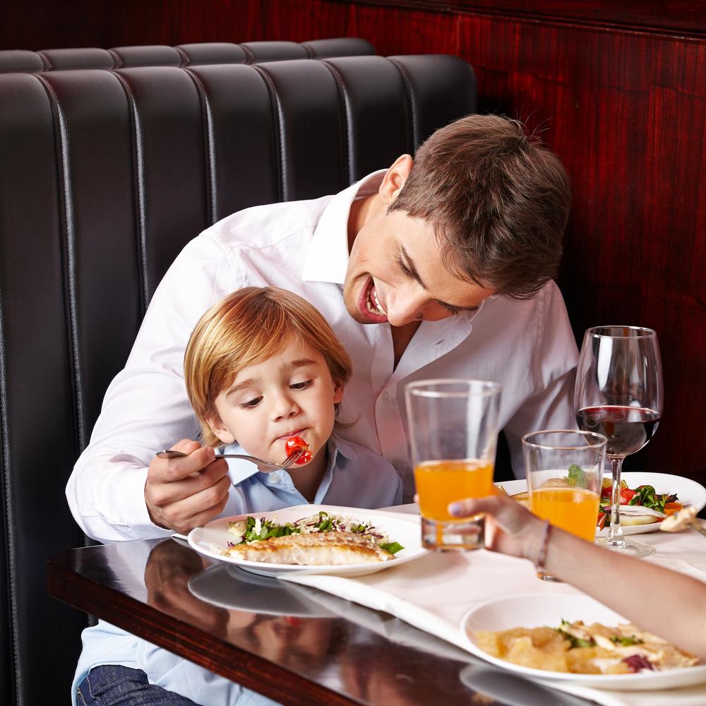 Kinder im Restaurant – ein Abenteuer