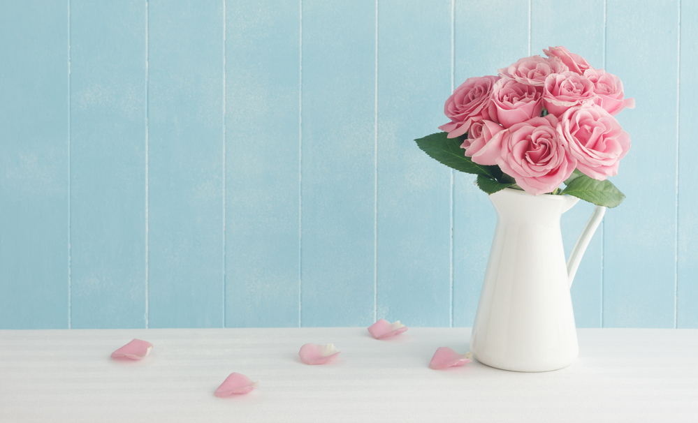 Die Vase loben