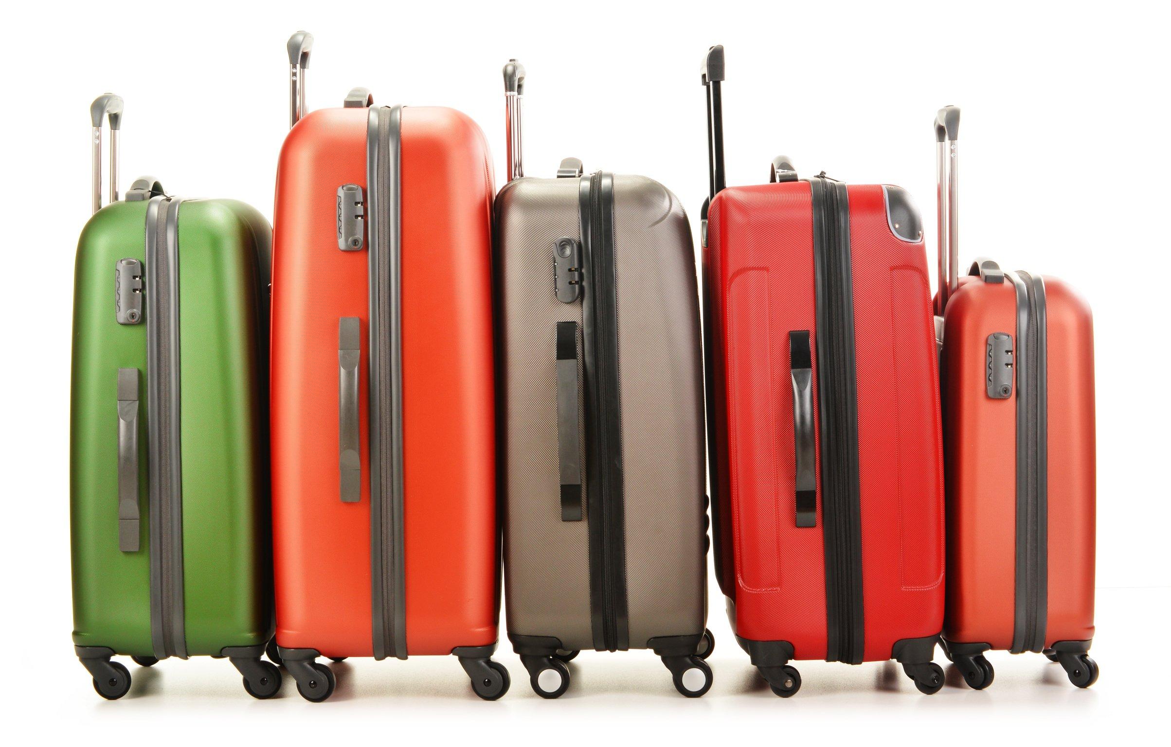 Mit Freude Koffer packen